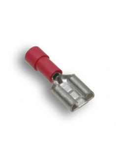 AL-FR4A250-N-C Advanced Cable Ties Spade Terminals Spade Terminals Red Nylon Female Disconnect 100