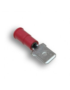 AL-MT4A250-N-C Advanced Cable Ties Spade Terminals Spade Terminals Red Nylon Male Disconnect 100