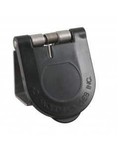 CL40WTC-L-125-A Marinco Power Products Cam Lock Covers Power Inlet Accessories, Cam Lock Covers Snap Back Cam Cover Surface Moun