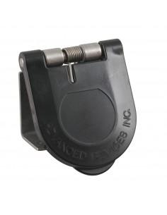 CL40WTC-L-187-A Marinco Power Products Cam Lock Covers Power Inlet Accessories, Cam Lock Covers Snap Back Cam Cover Through-Moun