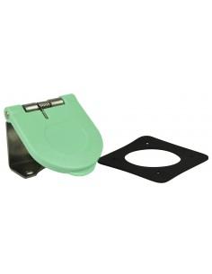 CL40WTC-L-062-E Marinco Power Products Cam Lock Covers Power Inlet Accessories, Cam Lock Covers Snap Back Cam Cover Through Moun