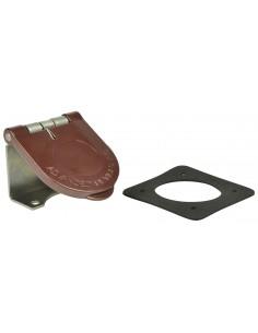 CL40WTC-L-062-G Marinco Power Products Cam Lock Covers Power Inlet Accessories, Cam Lock Covers Snap Back Cam Cover Through Moun