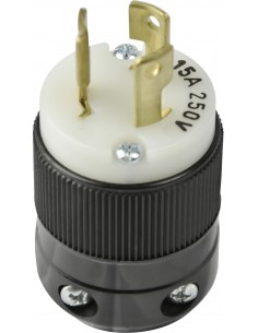 15A to 50A Plugs and ReceptaclesMarinco Power Products 15A 250V PLUG, LOCKING 4570, connectors