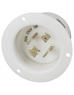 2015FI Marinco Power Products 15A to 50A Plugs and Receptacles Products, 15A to 50A Plugs and Receptacles 20A PLUG, 125/250V LOC