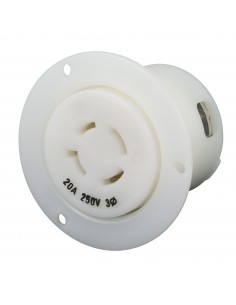 2015FO Marinco Power Products 15A to 50A Plugs and Receptacles Products, 15A to 50A Plugs and Receptacles 20A 125/250V RECEPTACL