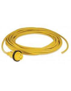 25MSPPX Marinco Cordsets Cordsets Cordset, 16A 230V, 25M, Blunt Cut, Yellow