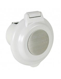 304EL-B Marinco 15A to 50A Plugs and Receptacles 15A to 50A Plugs and Receptacles Inlet, 30A 125V, Round, White