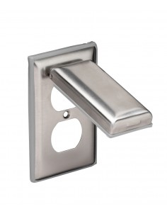 7879CR Marinco Weatherproof Outlet Covers Weatherproof Outlet Covers COVER, RECEPTACLE SS (WP-8)