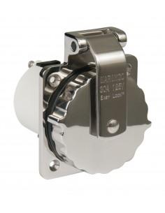 303SSEL-BRV ParkPower Power Inlet Accessories Power Inlet Accessories 30A 125V Stainless Steel RV Power Inlet