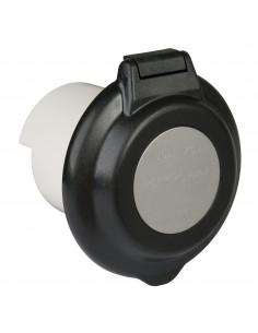 304EL-BRV.BLK ParkPower Power Inlet Accessories Power Inlet Accessories 30A 125V Contoured RV Power Inlet, Black