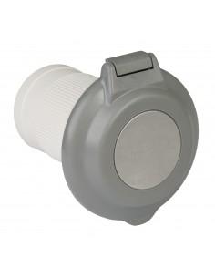 6344EL-BRV.G ParkPower Power Inlet Accessories Power Inlet Accessories 50A 125/250V Contour Gray Inlet
